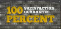 Hell Bent Steel 100% Satisfaction Guarantee