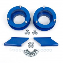Limited Edition BLUE Dodge Ram 2.5 inch Leveling Kit with Anti-Sway Bar Drop Brackets. Fits 1994-2012 Dodge Ram Solid Axle 4x4 Trucks