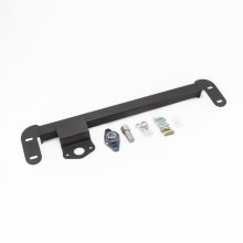 Isometric view - Dodge Ram Steering Stabilizer Bar Kit. Fits 2003-2008 Dodge Ram Solid Axle 4x4 Trucks