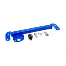 Isometric View - Dodge Ram Steering Stabilizer Bar Kit. Fits 1994-2002 Dodge Ram Solid Axle 4x4 Trucks