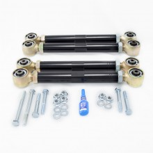 Isometric view - Dodge Ram Adjustable Upper and Lower Control Arm Kit. Fits 2000-2009 Dodge Ram Solid Axle 1500/2500/3500 4x4 Trucks