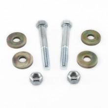 Isometric View - Dodge Ram Cam Bolt Eliminator Kit. Use in conjunction with HBS Adjustable Control Arms