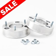 Isometric View - Ford F150 3 inch billet aluminum leveling kit. Fits 2004-2008 Ford F150 Trucks