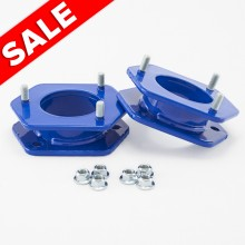 Isometric View - Ford F150 3 inch BLUE leveling kit. Fits 2004-2008 Ford F150 Trucks