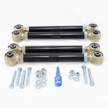 Isometric View - Dodge Ram Adjustable Upper and Lower Control Arm Kit. Fits 1994-1999 Dodge Ram Solid Axle 1500/2500/3500 4x4 Trucks